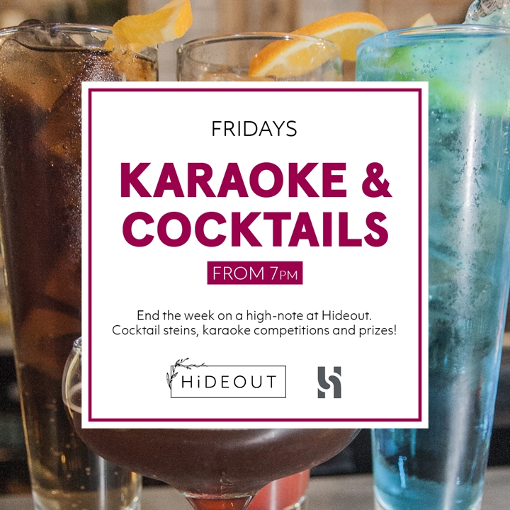 HiDEOUT: Karaoke and Cocktails