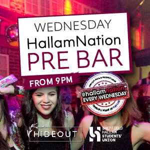 Hallam Nation Pre Bar