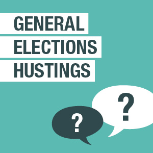 CANCELLED - General Elections Hustings