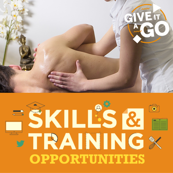 APPLICATIONS CLOSE for Level 2 Diploma in Complementary Therapies.