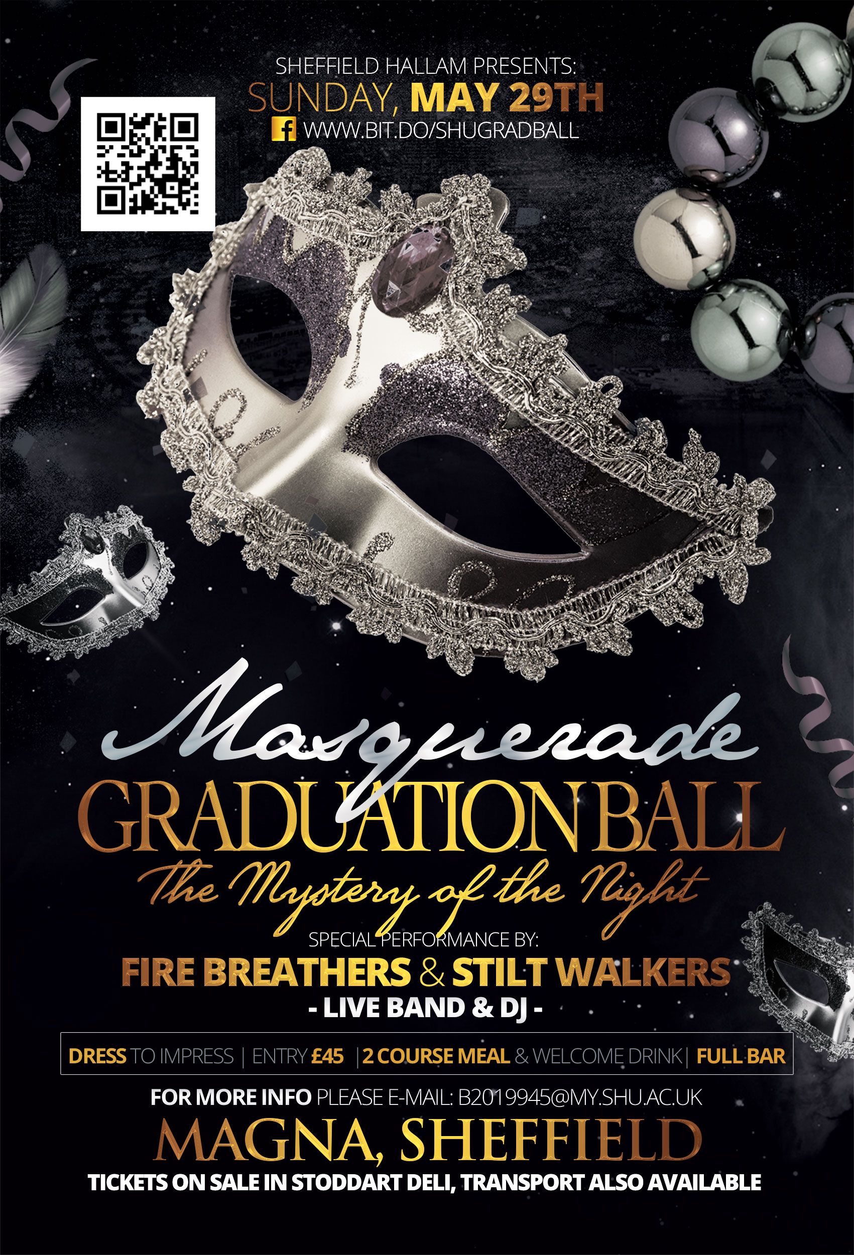 Masquerade Graduation Ball