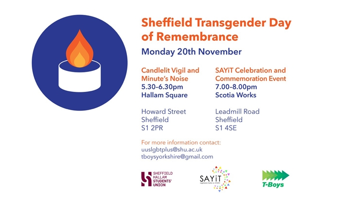 Sheffield Transgender Day of Remembrance