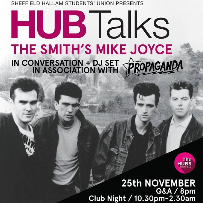 Mike Joyce (The Smiths) In Conversation: Q&A + Club Night