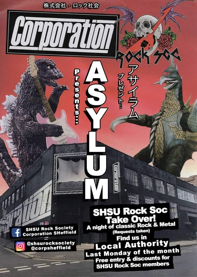 Rock Soc's Asylum (Corp Take Over)