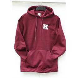 Image for Team Hallam Poly Hood Maroon