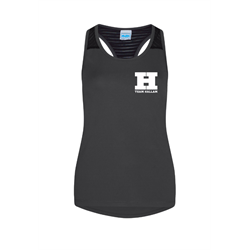 Image for Team Hallam Ladies Gym Vest Black
