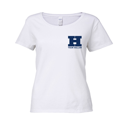 Image for Team Hallam Ladies Scoop Neck T-Shirt White - Large