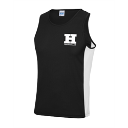 Image for Team Hallam Gym Vest Black - Small