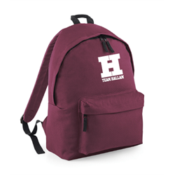Image for Team Hallam Backpack - Maroon
