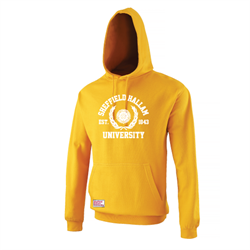Image for Crested Hoody Mustard