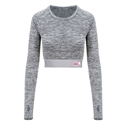 Image for Long sleeved crop top