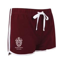 Image for Maroon Team Hallam Crest Shorts