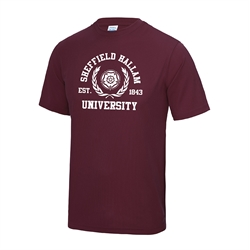 Image for Do not upload Gym T-Shirt Maroon - Medium