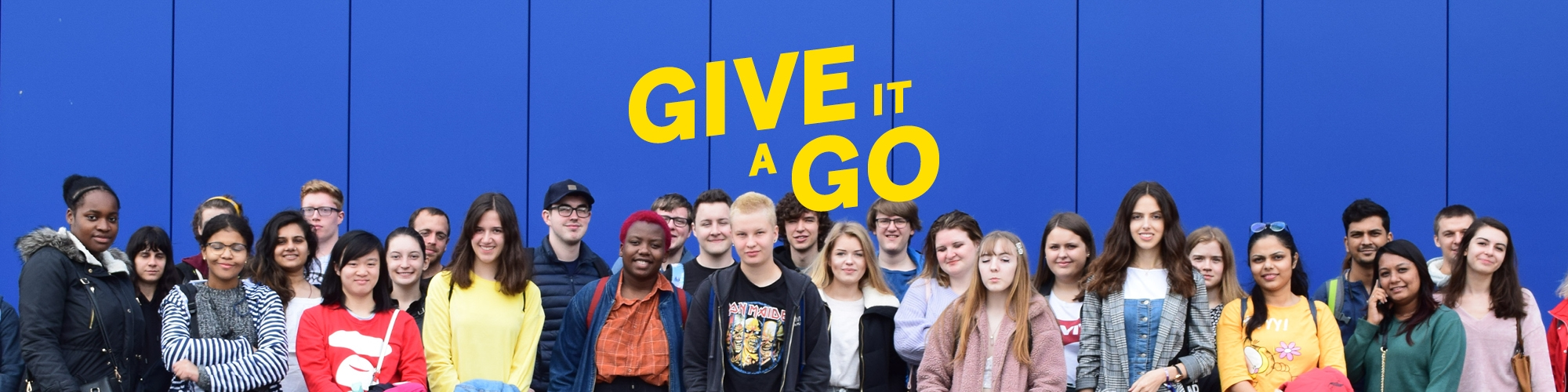 The Give It A Go programme is hand-picked to bring you the best trips, events and activities at student-friendly prices