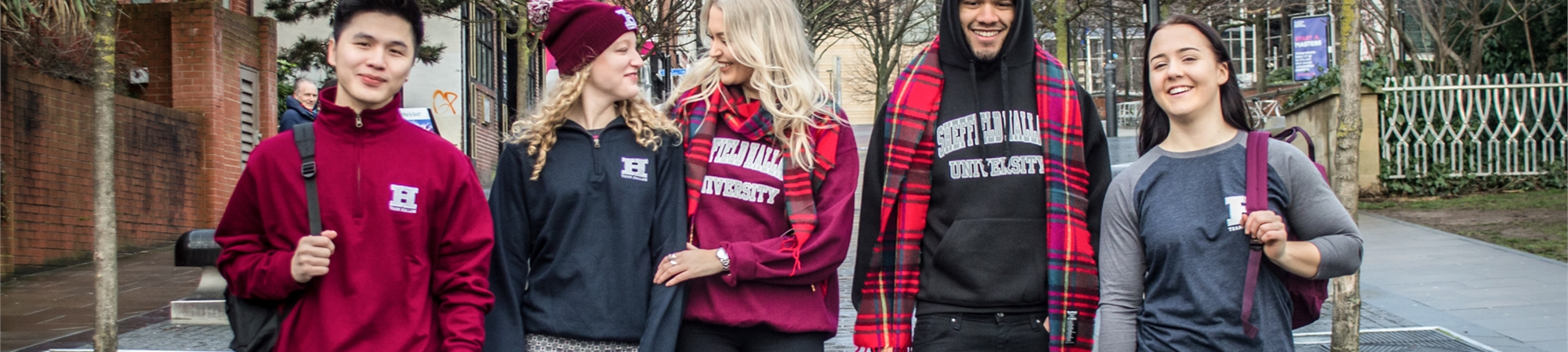 Get your branded Sheffield Hallam clothing, tickets and accessories at the click of a button with our Online Shop