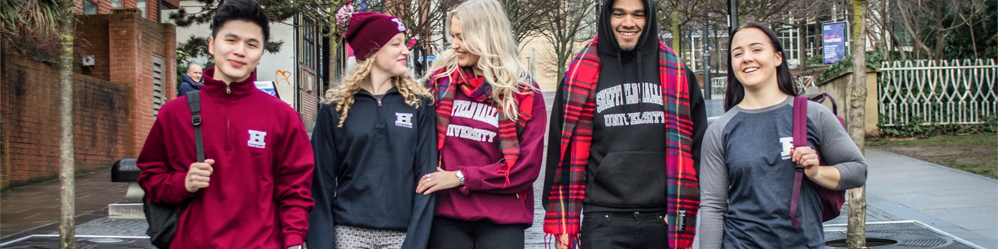 Get your branded Sheffield Hallam clothing, tickets and accessories at the click of a button